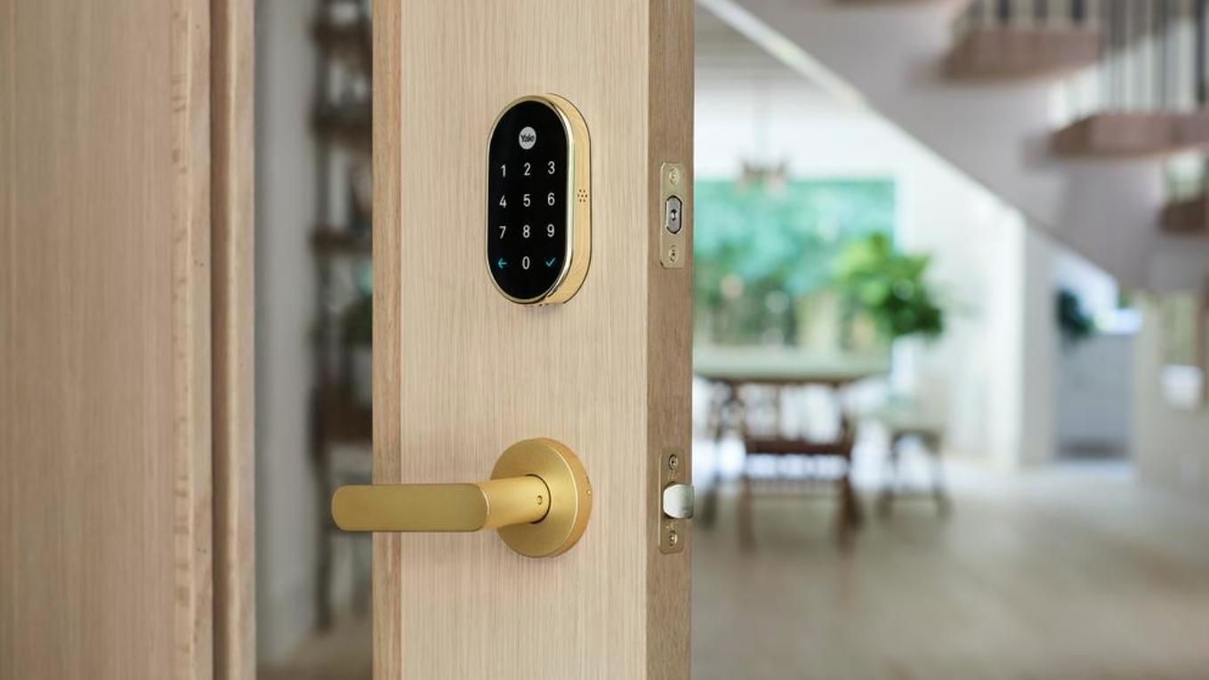 smart lock door